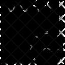 Paper Piece Minus Icon