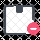 Remove Order Delivery Icon