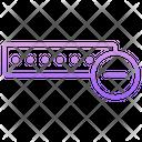 Minus Password Icon