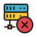 Server Delete Mainframe Icon