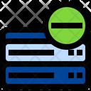 Remove Server Delete Server Remove Database Icon