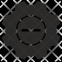 Remove settings Icon