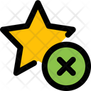 Remove Star Icon
