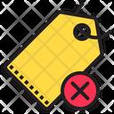 Remove Tag No Tag Price Tag Icon