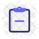 Task Remove Clipboard Icon