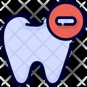 Delete Remove Tooth Icon