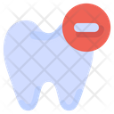 Delete Remove Tooth Icon