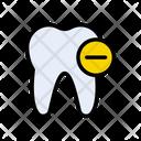Teeth Dental Remove Icon