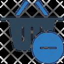 Remove To Basket Basket Shopping Basket Icon