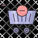 Cart Remove Basket Icon
