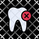 Teeth Delete Oral Icon