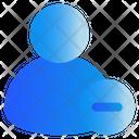 Remove Unfriend Unfollow Icon