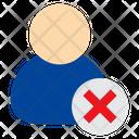 User Delete Cancel Icon