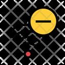 Minus Remove Signal Icon