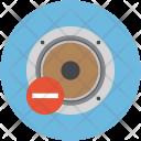 Remove Woofer Speaker Icon