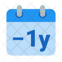 Remove year Icon