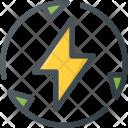 Renewable Recycle Energy Icon