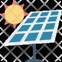 Renewable Energy Solar Icon