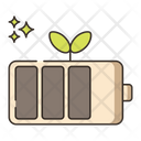 Renewable Battery Batteries Icon
