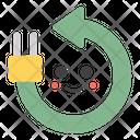 Renewable Energy Plug Emoji Emoticon Icon