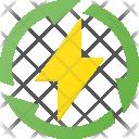 Renewable Energy Electricity Icon