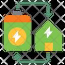 Irenewable Renewable Energy Power Icon