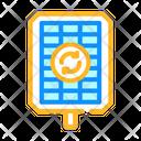 Renewable Energy Photovoltaic Icon