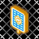 Renewable Energy Isometric Icon