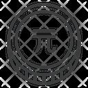 Yuan Chinese Cny Icon
