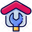 Renovation Construction Real Icon