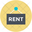 Rent Hanging Signboard Icon