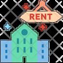 Rent Rental Building Apartment Icon