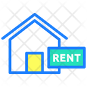 Rent Rental House House Rent Icon