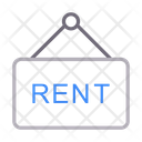 Rent Board Hanging Icon