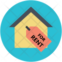 Rent Property House Icon