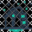 Rent Key House Icon