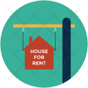 Rent Hanging Board Icon