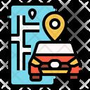Automobile Transportation Vehicle Icon