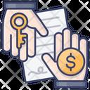 Rent Agreement Icon