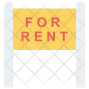 Board Rent Sign Icon