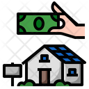 Rent Business House Icon