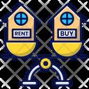 Rent Buy House Icon