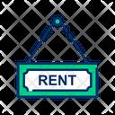 Rent sign Icon