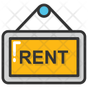 Rent Sign Icon