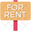 Rent Signboard Icon