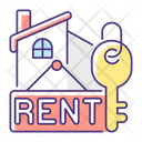 Rent Rental Home Icon