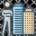Rental Broker Landlord Property Agent Icon