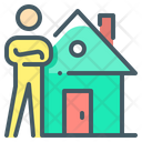 Rental Broker Landlord Property Agent Icon