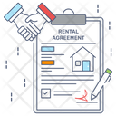 Property Papers Property Contract Estate Agreement Icon