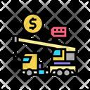Crane Rental Color Icon